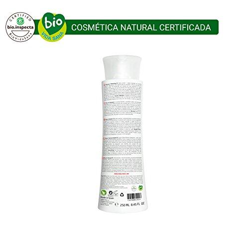 Shampooing VidalForce 2 Advanced Fall Prevention Natural certifié sans sulfates chimiques, parabènes et silicones, tous types de cheveux. Hommes et femmes