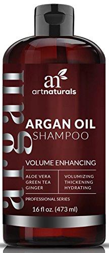 Art Naturals Shampooing Anti-Chute de Cheveux Huile d'Argan Bio 473 ml. Sans sulfate. Prévient la chute prématurée, l'affaiblissement des cheveux et.....
