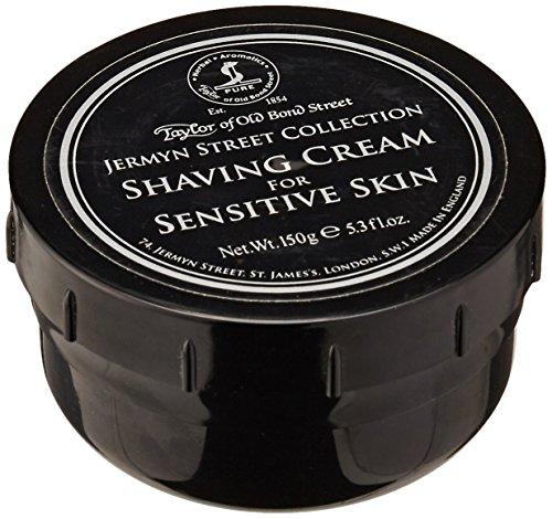 Taylors of Old Bond Street Street Jermyn Street Collection Crème à raser pour peau sensible Pot à vis 150gr