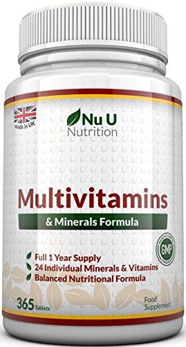 Formule MultiVitamines & Minéraux