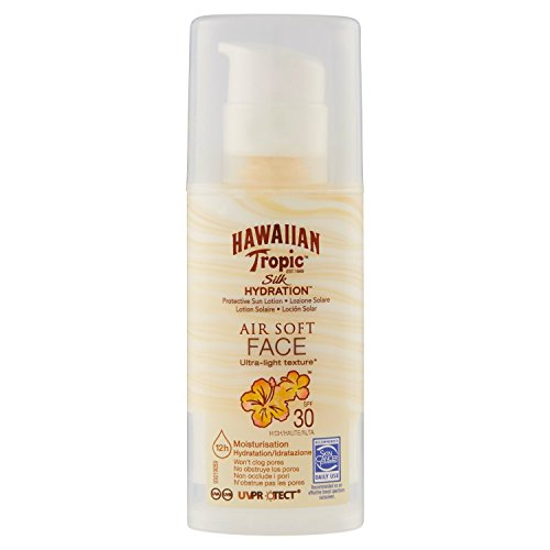 Hawaiian Tropic Face Tropic Silk Hydratation Air Soft - SPF 30