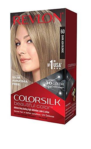 Revlon Colorsilk Hair Color 60 Dark Blonde Ash - 60 gr