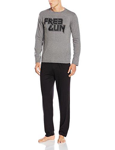 Pyjama homme Freegun, gris
