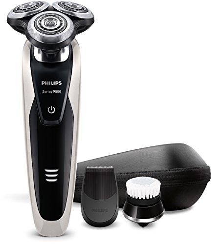 Philips SHAVER Series 9000 S909090/43 Coupe-gazon rotatif noir métallisé - rasoir (Rotation, noir, métallisé, batterie, lithium-ion, ergonomique)