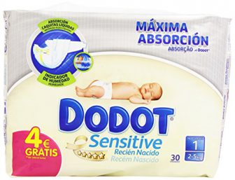Dodot Sensitive 30 unités