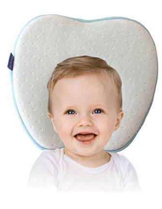Oreiller de bébé pour plagiocéphalie