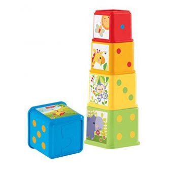 Les blocs s'empilent et se découvrent (Mattel)