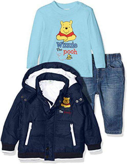 Disney Winnie l'ourson, ensemble bébé, bleu (marine), 24 mois