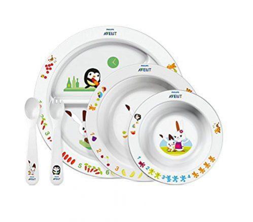 Philips Avent SCF716/00 Ensemble d'heure de repas pour enfants, 6 mois et plus