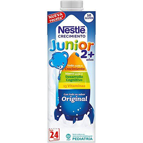 NESTLÉ JUNIOR 2+ Original - Lait pour enfants de 2 ans et plus - 6x1L