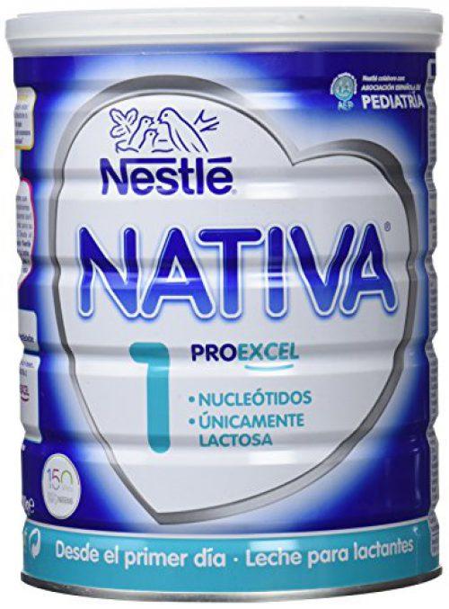 NESTLÉ NATIVA 1 - Dès le premier jour - Lait en poudre pour nourrissons - Préparation pour nourrissons - 800 ml.....