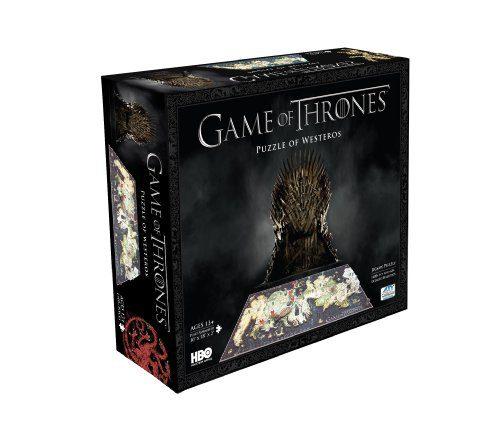 Thrones Jeu - 4D Puzzle
