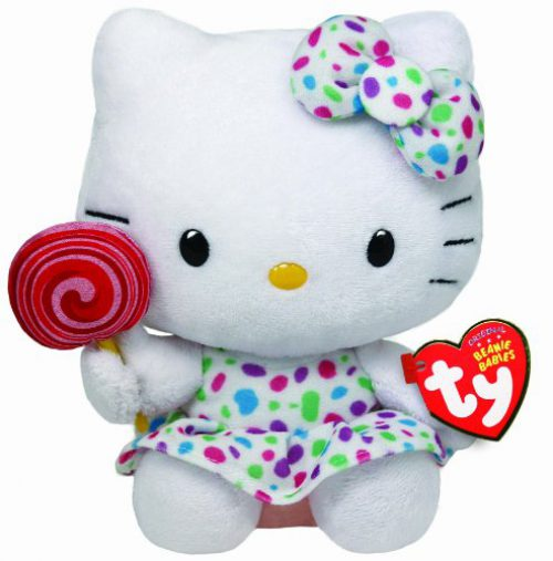 Peluche Hello Kitty - Lollipop en peluche
