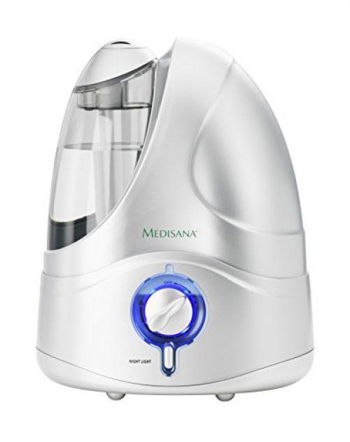 Medisana 60065 UHW - Humidificateur à ultrasons 4,2l, micro nébuliseur, nébuliseur maximum 230 ml/h, arrêt automatique lorsque le réservoir est terminé, silencieux