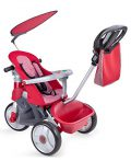 Feber 800009473- Baby Trike Easy Evolution, tricycle, rouge