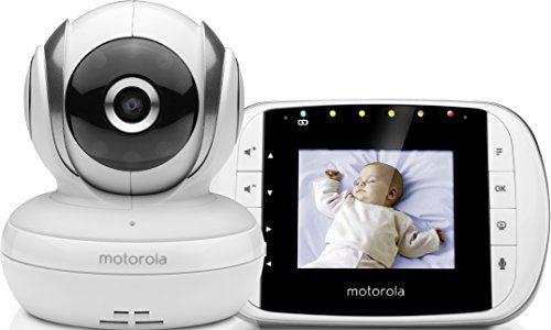 Motorola MBP 33S - Moniteur vidéo pour bébé avec écran LCD couleur de 2,8 pouces