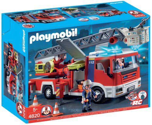 Playmobil - Camion de pompiers