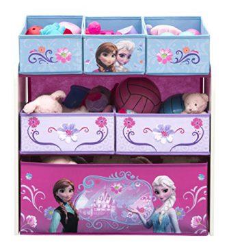 Coffre en bois congelé - Boîte de rangement pour jouets