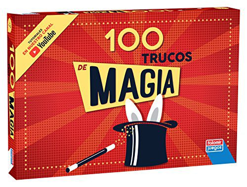 Falomir- Boîte 100 Trucs et astuces, jeu de société, magie (1060)