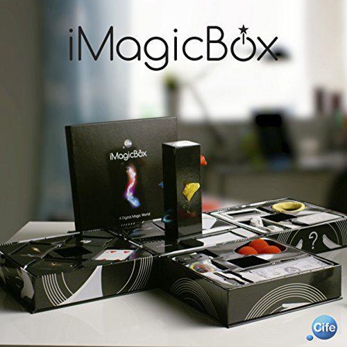 iMagicBox-41197 Boîte avec différents ensembles de magie, avec accès à, couleur noir, sans taille (Cife Espagne 41197