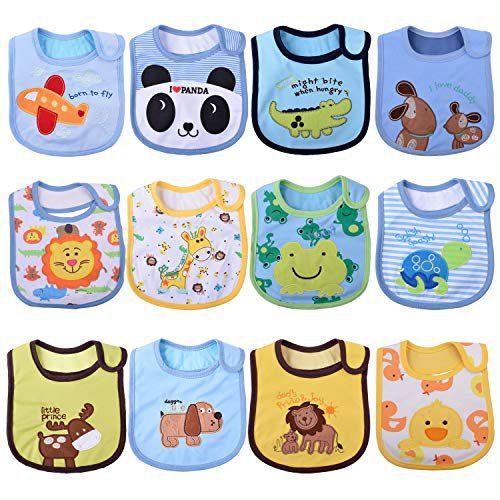 Bavoirs Tomkity 12x Bavoirs imperméables pour enfants (koushuijin-12new)