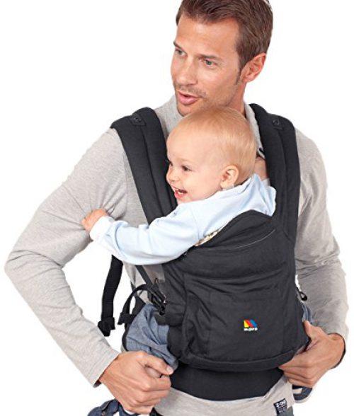 Moltó 12742 - Porte-bébé ergonomique, couleur noir