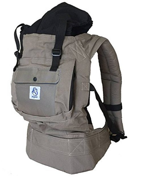 Porte-bébé pour transporter votre bébé Mains libres - Porte-bébé au design ergonomique à positions multiples - Il s'adapte aux....