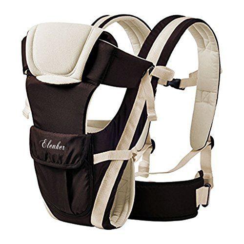 ELENKER Porte-bébé ergonomique multifonctions respirant 4 en 1, avec 4 modes pour porte-bébé avec confort, pour nouveau-né à 30 ans.....