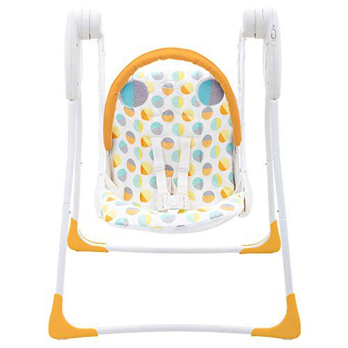 Balançoire Graco Baby Delight Swing, 80's Circles