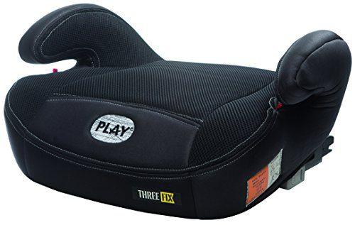 Play Three Fix, siège auto de groupe 2/3 Isofix, noir