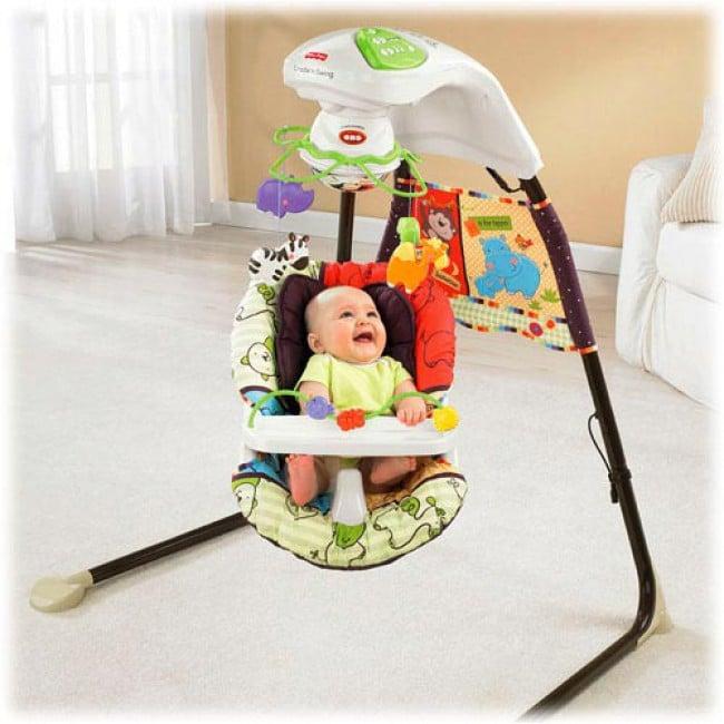 Meilleures balançoires de bébé bon marché