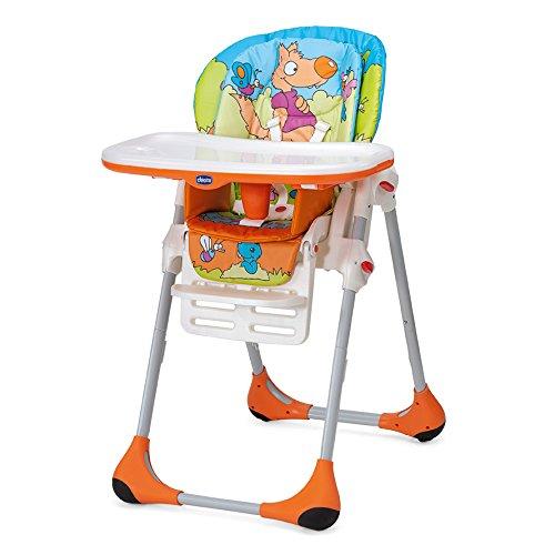 Chicco Polly - Chaise haute 2 en 1 pour les enfants de 6 mois....