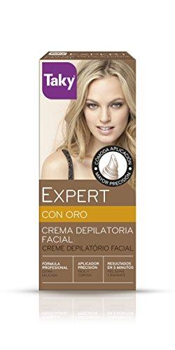 Taky Crème épilatoire visage crème dépilatoire or
