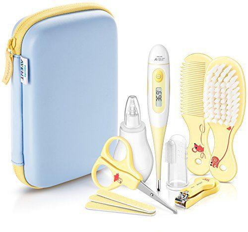 Philips Avent SCH400/30 - Set de soins pour bébé, jaune