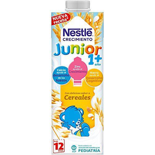 NESTLÉ JUNIOR 1+ Céréales - Lait pour enfants à partir de 1 an - Lait pour enfants de 1 an