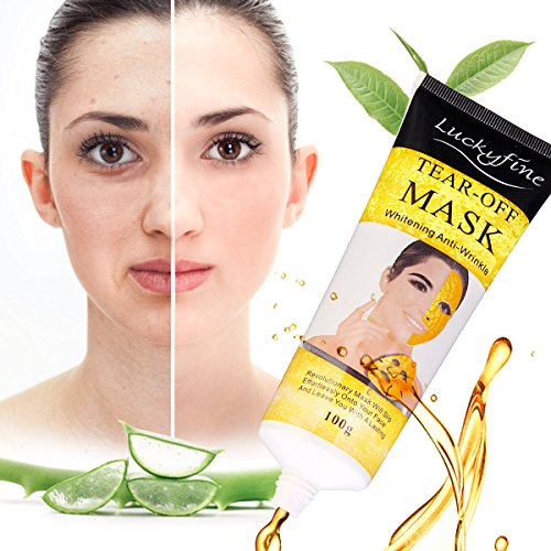 Masque facial au collagène Luckyfine