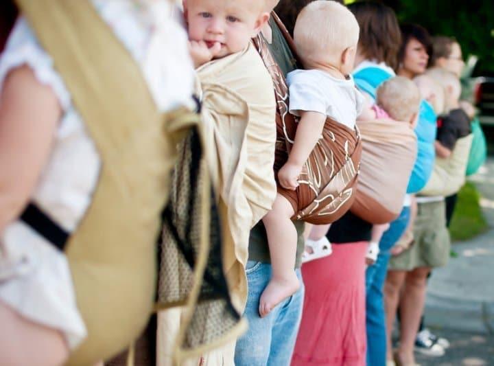 porte-bébés ergonomiques bon marché