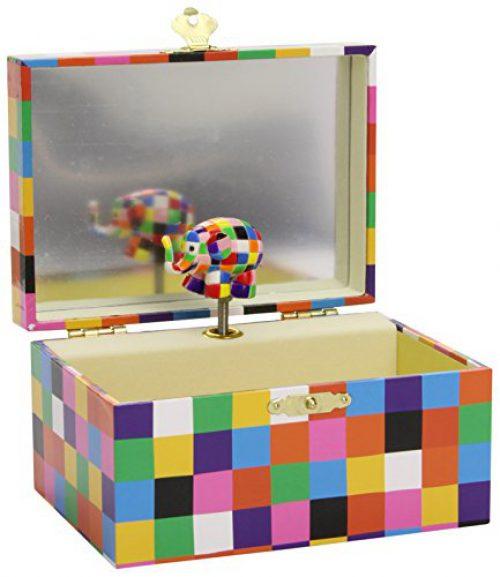 Trousselier - Boîte à musique, design Elmer (Trousselier S91064)