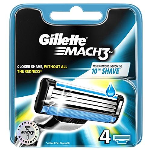 Gillette Mach 3 - Boîte de 4 pièces de rechange