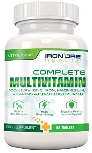 Multivitamines complètes