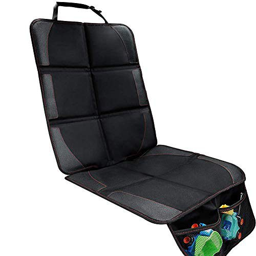Protecteur de siège auto - Housse de protection Premium Isofix pour siège avant et arrière avec pochette et taille universelle -.....