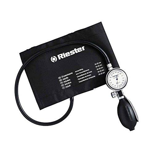 Riester 1312 minimus II, tensiomètre, noir, brassard velcro adulte
