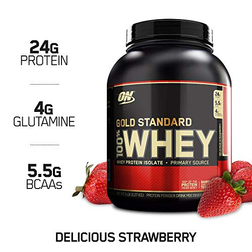Optimum Nutrition Gold Standard 100% protéines de lactosérum