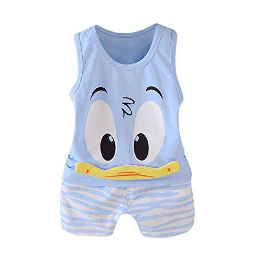 QinMM Pyjama Kids Babies Babies Duck Set