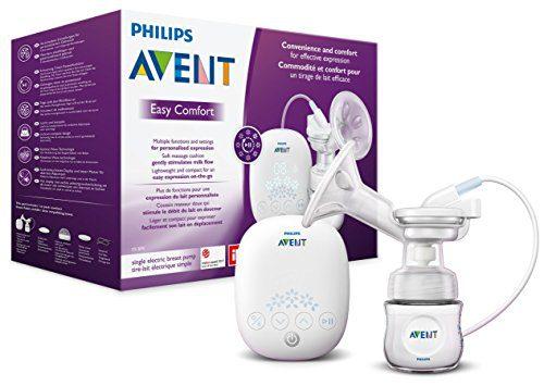 Philips Avent SCF301/02 - Tire-lait électrique, confortable, léger et compact avec minuterie.