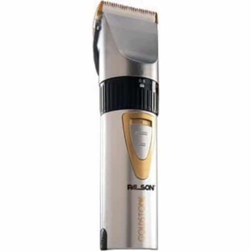 Palson 30064B Goldstone - Tondeuse à cheveux professionnelle (rechargeable, 4 guides de coupe, lames....