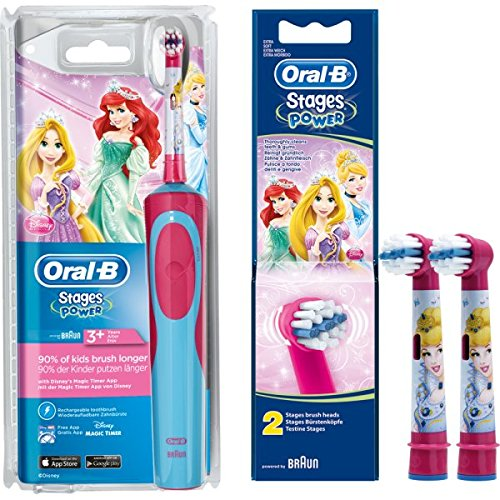 Jeu de basse : 1 Oral-B Stages Power Advance Power Advance Power Kids 900TX de Braun zahnbuerste...