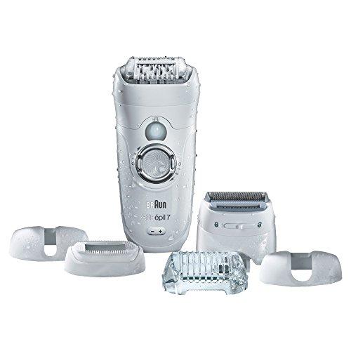 Braun Silk-épil 7 7-561 - Épilateur électrique sans fil sec et humide,....