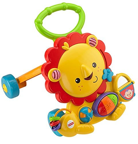 Fisher Price - Lion de marche musical (Mattel Y9854)