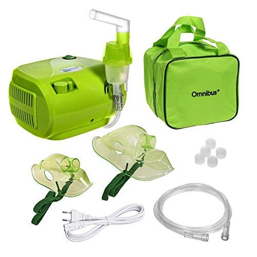 Omnibus BR-CN116B - Inhalateur nébuliseur, de couleur verte